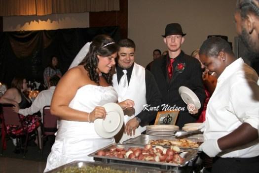 Buffet Dinner for Weddings