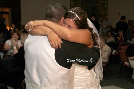 Tender moments at weddings