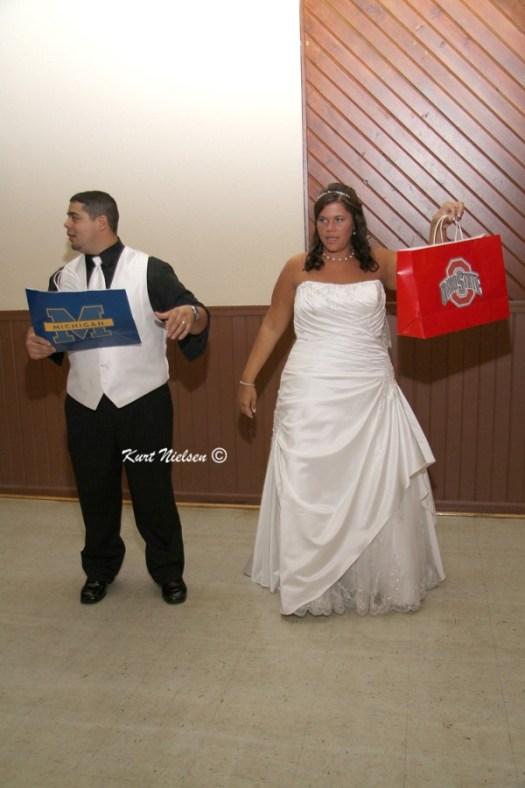 OSU-U of M Themed Weddings