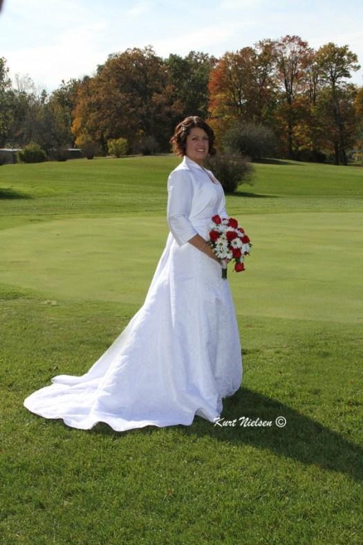Outside Bridal Portraits