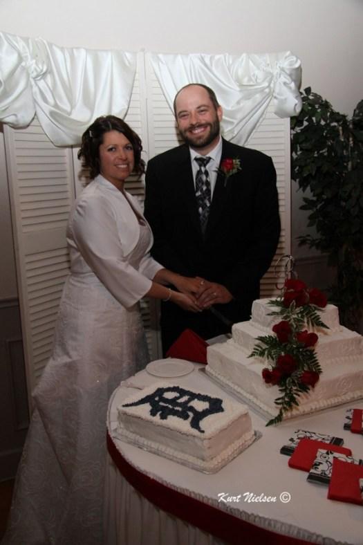Posing for Cake photos