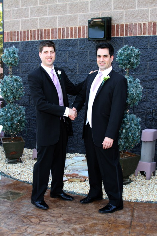 Photos of the Groom and Best Man