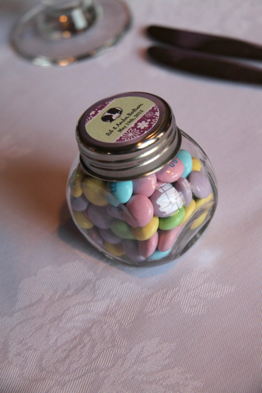 Personalized Wedding Favors M&Ms