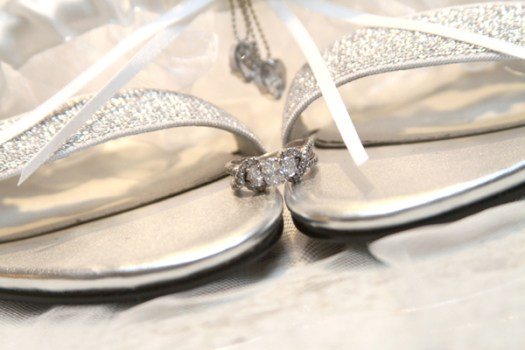 Engagement Rings and Wedding Shoes