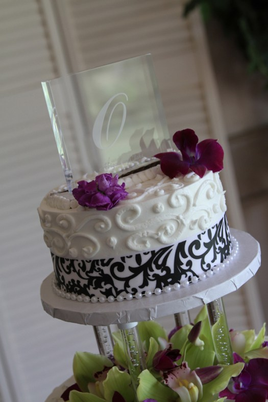 arcrylic cake topper