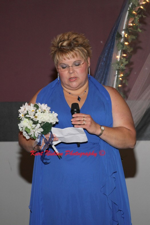 reading at wedding