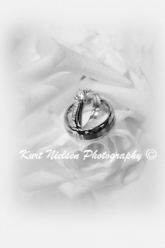 artistic wedding ring photo