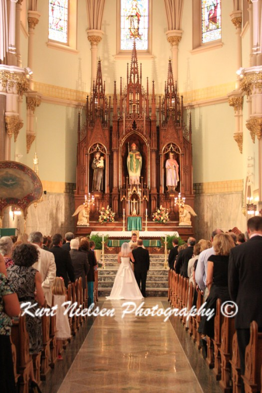 catholic wedding in Toledo