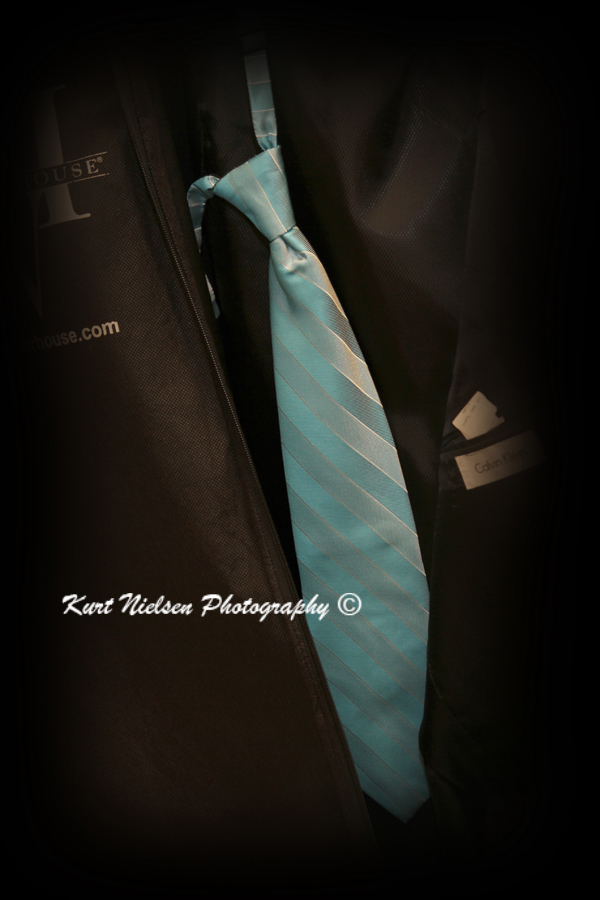 blue wedding tie