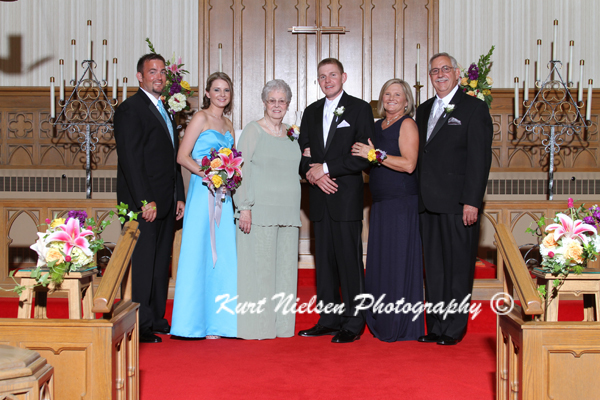 groom's family portraits