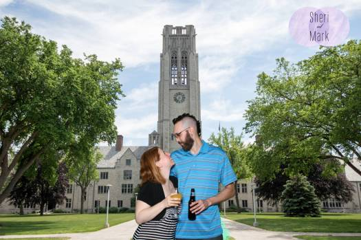university of toledo wedding photo booth