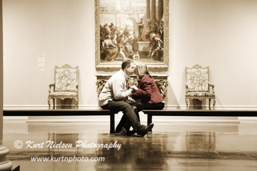 toledo museum engagement photos