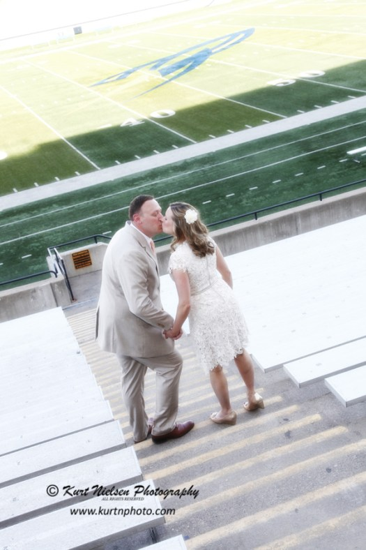 sports stadium weddings
