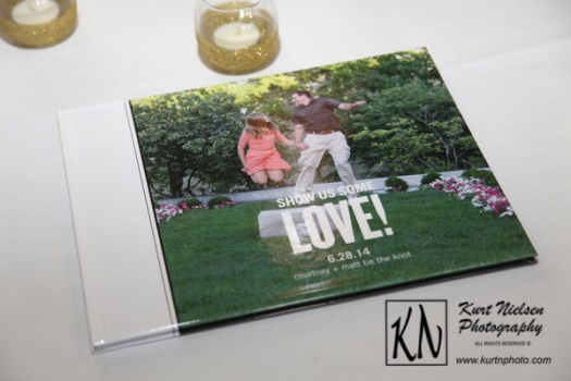 photo guest book for wedding