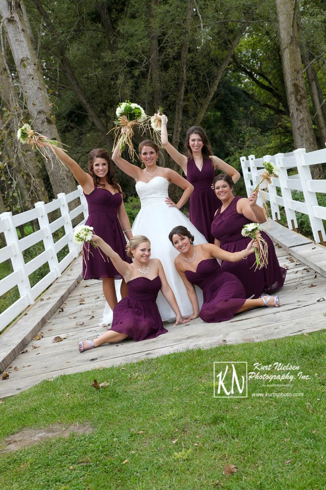 Bridal Party Photos at the Stables by Kurt Nielsen Photography