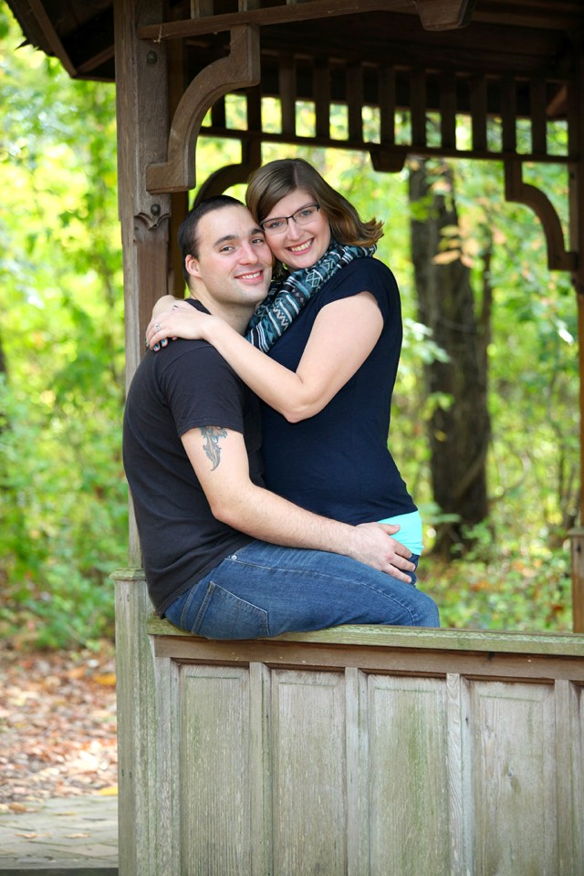wildwood park engagement pictures