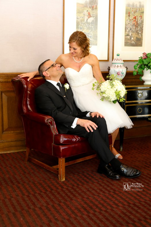 wedding photography at the Toledo Club
