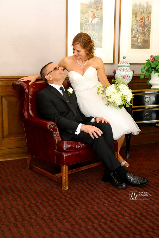 wedding photography at the Toledo Club
