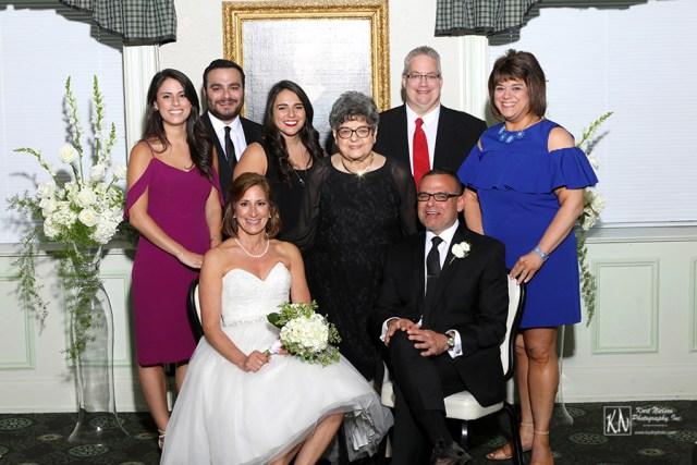 the groom's family