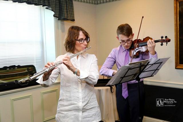 flute and violin wedding ceremony music