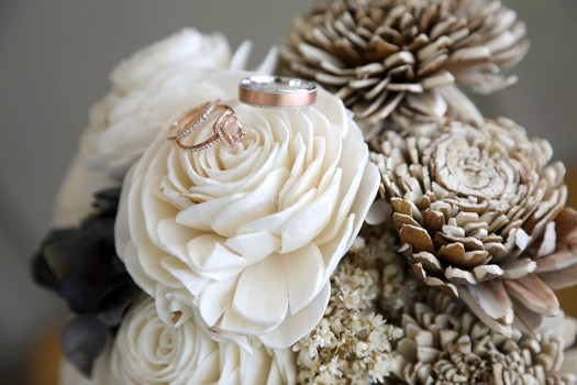 do it yourself wooden flower bouquet