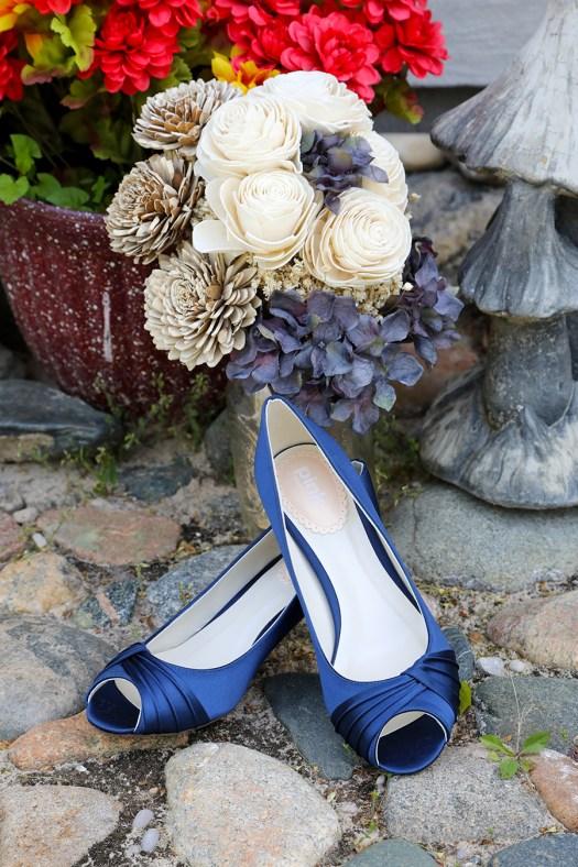 navy blue pink paradox london peep toe shoes