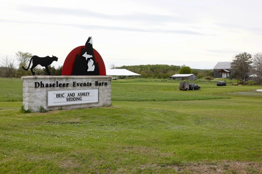 Dhaseleer Event Barn in Charlevoix Michigan