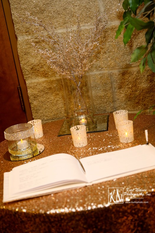 guest book table design