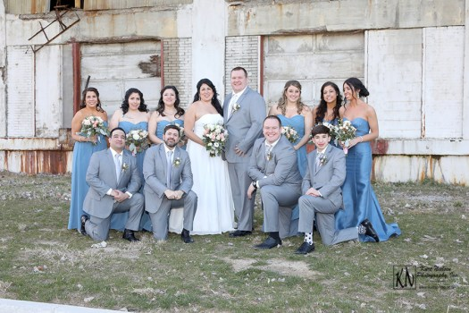 late winter wedding photos