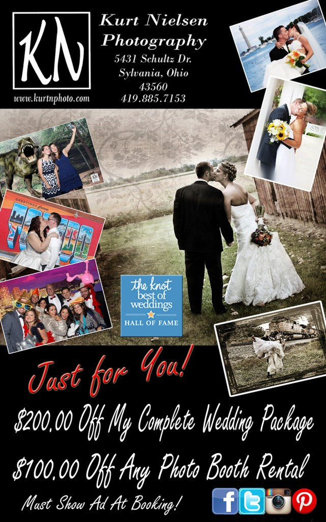 Fall Bridal Show special for Toledo Wedding Photographer Kurt Nielsen Photography