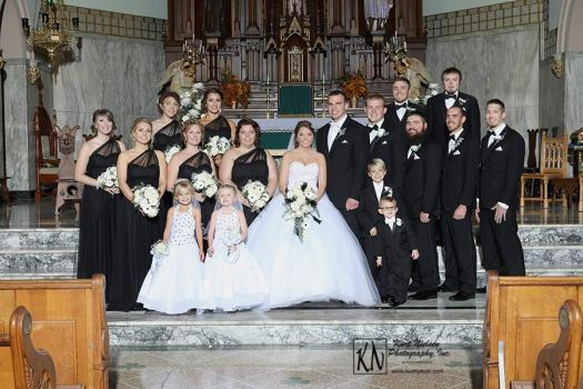 Weddings at the Historic Church of St. Patrick in downtown Toledo