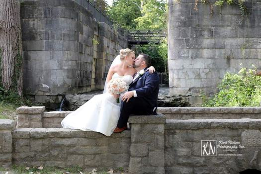 Side Cut Metropark Wedding Portraits by Kurt Nielsen Photography