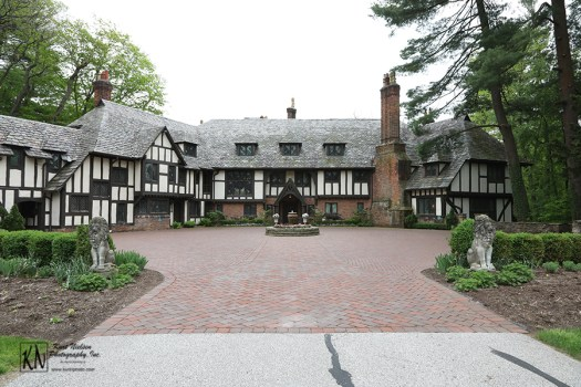 The Club at Hillbrook in Chagrin Falls is a 40-room Tudor Estate on 50 acres
