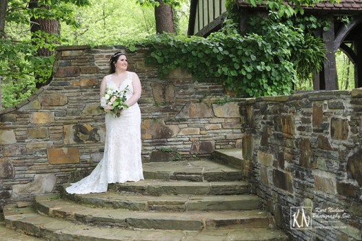 garden-inspired real wedding in Cleveland