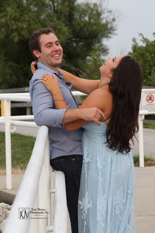 don't forget to have fun during your engagement portrait session
