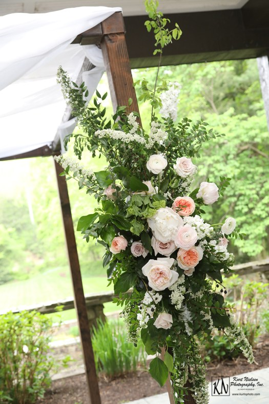 blush and white florals by Molly Taylor and Co