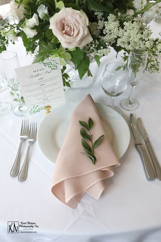 garden themed wedding table ideas