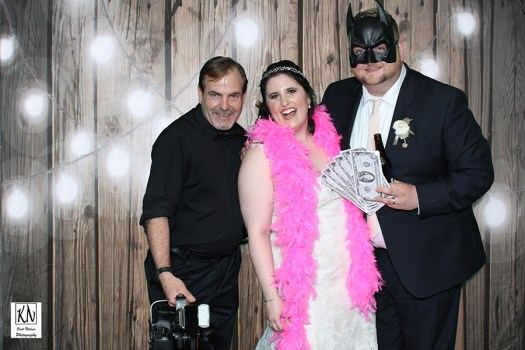green screen photo booth at weddings