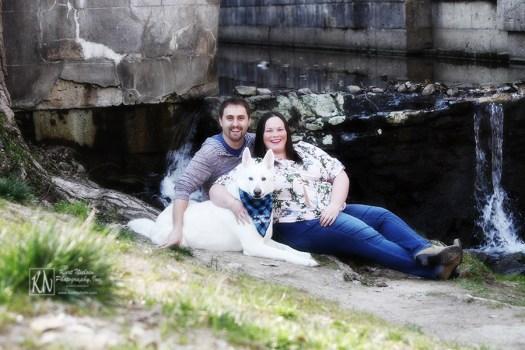 engagement photos with your dog by Kurt Nielsen Photography