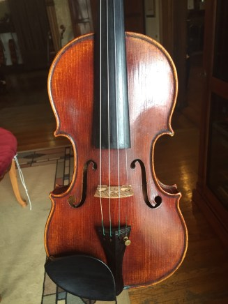Violin, 2005 front