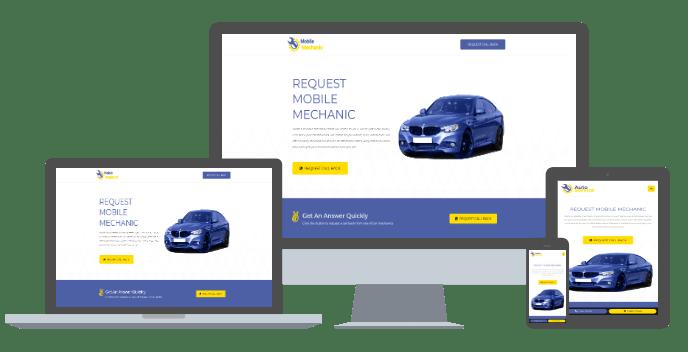 fully responsive, custom developed wordpress cms website