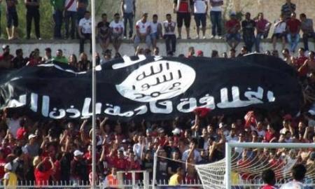 22 drapeau stade Tunisie