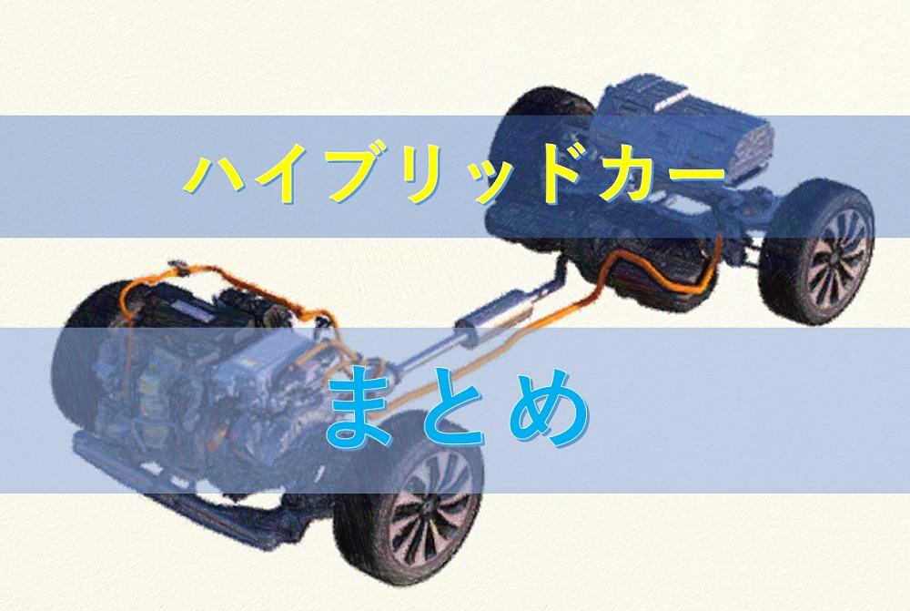 ハイブリッドカー システム図