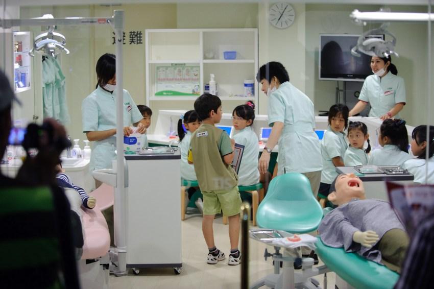 dentist kidzania