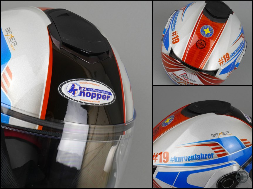 Das Kurvenfahrer.at Airbrush Helm Design