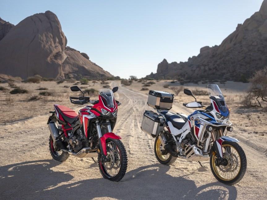 2020 Honda Africa Twin und Adventure Sports… sie sind da!!!