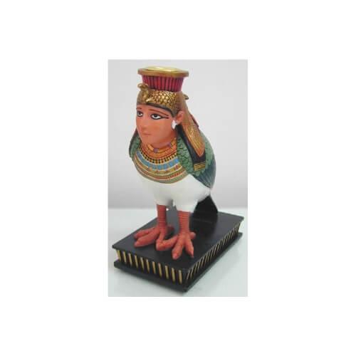 Mısır Temalı nefertiti Başlı Mumluk