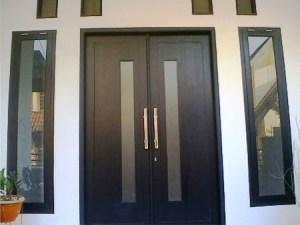 Model Pintu Minimalis dua daun