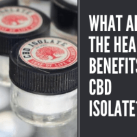 What are the Health Benefits of CBD Isolate?