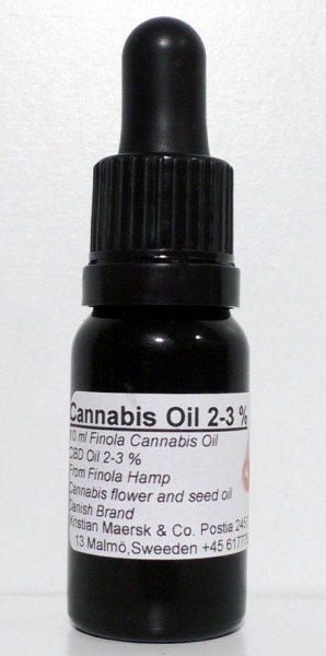 CBD Drops (10 ml) (Kristians CBD)